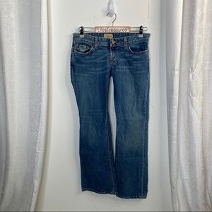 BKE low rise boot cut jeans